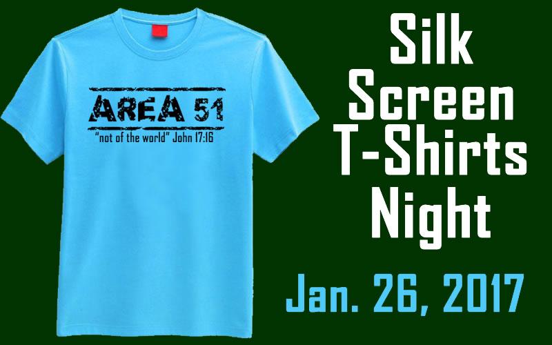 Silk Screen Night